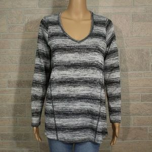 Altar'd State Stray Thoughts Stripe Tunic Shirt